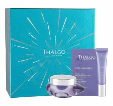 Thalgo Hyaluronique, rinkinys dieninis kremas moterims, (Day Care 50 ml + veido serumas 15 ml + Face Mask 4,5 ml)