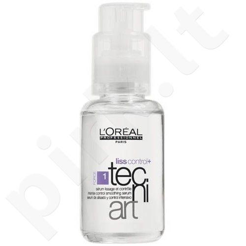 L´Oréal Professionnel Tecni.Art, Liss Control+, plaukų serumas moterims, 50ml
