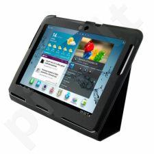 4World dėklas-stovas skirtas Galaxy Tab 2, plonas, 10'', juodas