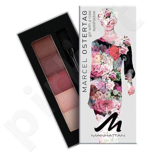 Manhattan akių šešėliai Palette By Marcel Ostertag, kosmetika moterims, 5g, (2 Girl With a Lily)