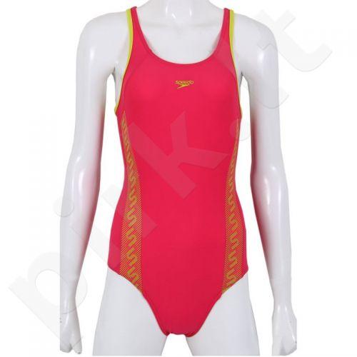 Maudymosi kostiumėlis Speedo Monogram Muscleback Junior 8-087478594