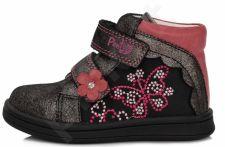 D.D. step juodi batai 22-27 d. da031374a
