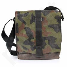 DAAG Jazzy Risk Up Camouflage 351 rankinė iš natūralios odos unisex