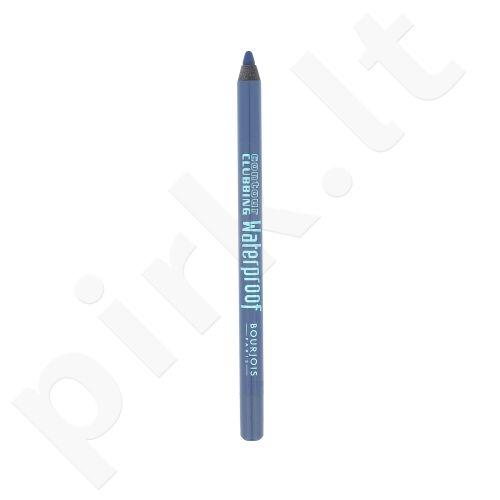 BOURJOIS Paris Contour Clubbing atsparus vandeniui akių kontūrų pieštukas, kosmetika moterims, 1,2g, (61 Denim´Pulse)