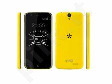 Telefonas Just5 Freedom Dual SIM geltonas