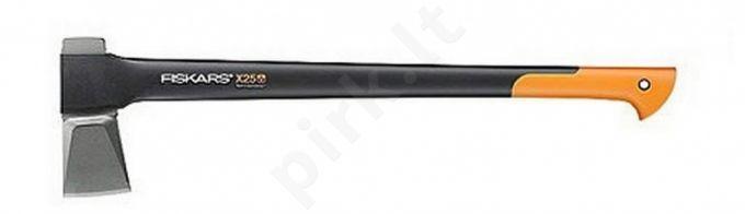 Didelis skaldymo kirvis Fiskars X25
