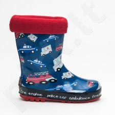 AMERICAN CLUB  Pašiltinti guminiai batai