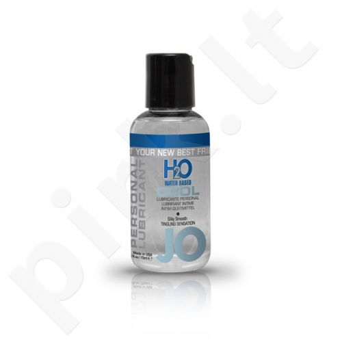 System JO - H2O Vėsus lubrikantas 75 ml