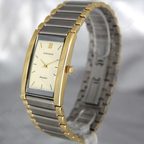 Vyriškas laikrodis Romanson TM1196 XC GD
