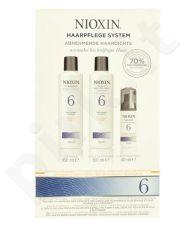 Nioxin System 6 valantis šampūnas rinkinys moterims, (150ml System 6 valantis šampūnas + 150ml System 6 Scalp Revitaliser kondicionierius + 40ml System 6 Scalp Treatment)