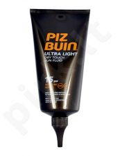 Piz Buin Ultra Light Dry Touch Sun Fluid SPF15, kosmetika moterims, 150ml