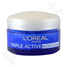 L´Oreal Paris Triple Active naktinis kremas, kosmetika moterims, 50ml