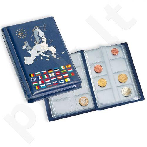 Mažas albumas euro monetų rinkiniams (minkštais viršeliais)