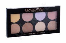 Makeup Revolution London Ultra, Strobe And Light Palette, skaistinanti priemonė moterims, 11,5g