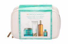Moroccanoil Body, rinkinys kūno pilingas moterims, (Body Buff 180 ml + rankų kremas 75 ml + kūno aliejus 100 ml + Treatment Oil 15 ml + kosmetika krepšys)