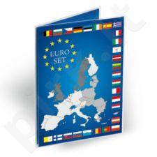Kortelė vienam euro monetų rinkiniui