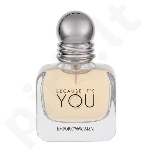 Giorgio Armani Emporio Armani, Because It´s You, kvapusis vanduo moterims, 30ml