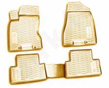 Guminiai kilimėliai 3D NISSAN X-Trail (T31) 2007-2013, 4 pcs. /L50075B /beige