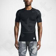 Marškinėliai termoaktyvūs Nike Pro Combat Hypercool Short-Sleeve Compression  M 636147-010