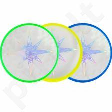 Talerz Frisbee Aerobie Skylighter 3 kol žalia geltonas mėlynas 6046475
