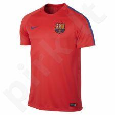 Marškinėliai futbolui Nike Dry Squad FC Barcelona M 808924-672