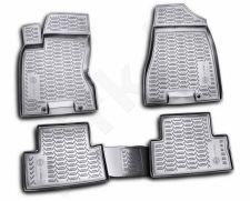 Guminiai kilimėliai 3D NISSAN X-Trail (T31) 2007-2013, 4 pcs. /L50075G /gray