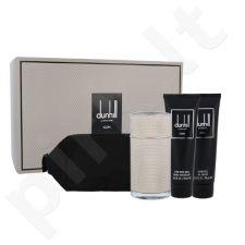 Dunhill Icon rinkinys vyrams, (EDP 100 ml + dušo želė 90 ml + losjonas po skutimosi 90 ml + kosmetikos krepšys)