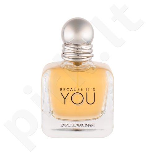 Giorgio Armani Emporio Armani, Because It´s You, kvapusis vanduo moterims, 50ml