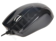 Gembird Optical mouse 1000 DPI, USB, black