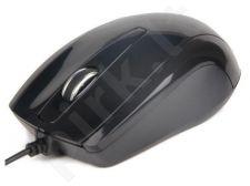 Gembird Optical mouse 1000 DPI, USB, black