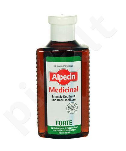 Alpecin Medicinal Forte Intensive Scalp And Hair Tonic, kosmetika moterims, 200ml