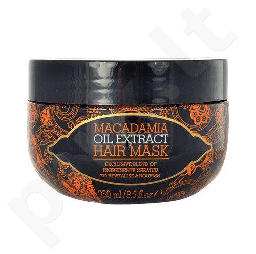 Macadamia Oil Extract plaukų kaukė, kosmetika moterims, 250ml