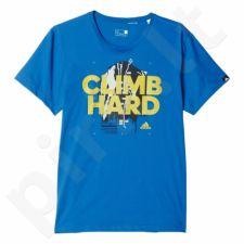 Marškinėliai Adidas Climb Hard M AY7165