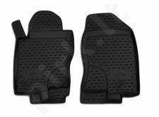Kilimėliai 3D NISSAN Pathfinder 2010-2014, 4 pcs. black /L50050
