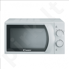 Candy CMW 2070M Microwave, Capacity 20L, 700W, 6 power levels, Timer, White