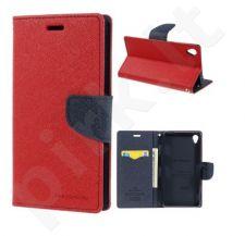 Sony Xperia Z3 dėklas FANCY Mercury raudonas/mėlynas