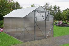 Akcija! Šiltnamis Classic 2.5x4 polikarbonatinis surenkamas šlaitinis (ekspozicinis) su 6 mm danga