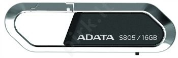 Atmintukas Adata S805 16GB, Nobility Series, Karabinas, Pasukamas, Retail
