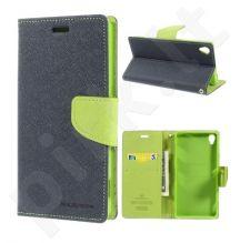 Sony Xperia Z3 dėklas FANCY Mercury mėlynas/žalias