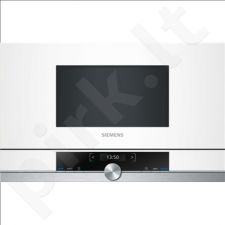 Siemens BF634RGW1 Built-in microwave/900W/7 Programs/Capacity 21L/TFT Display/TouchControl/CookControl/White