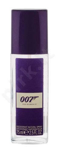 James Bond 007 James Bond 007, For Women III, dezodorantas moterims, 75ml