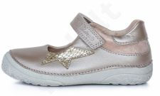 D.D. step auksinės spalvos batai 25-30 d. 0301003