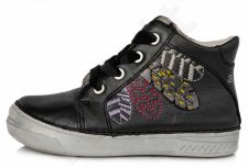 D.D. step juodi batai 25-30 d. 040442bm