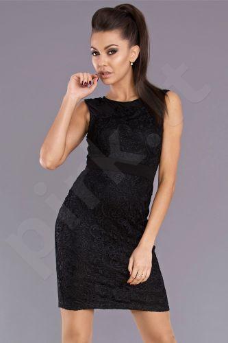 Emamoda suknelė - juoda 6903-5