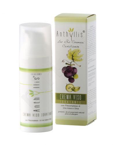 Anthyllis DRĖKINANTIS VEIDO KREMAS su raudonųjų vynuogių ir alyvuogių ekstraktais, 50 ml