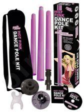 Rožinis striptizo stulpas