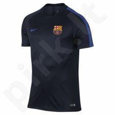 Marškinėliai futbolui Nike Dry Squad FC Barcelona M 808924-452