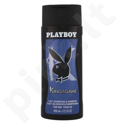Playboy King of the Game, dušo želė vyrams, 400ml