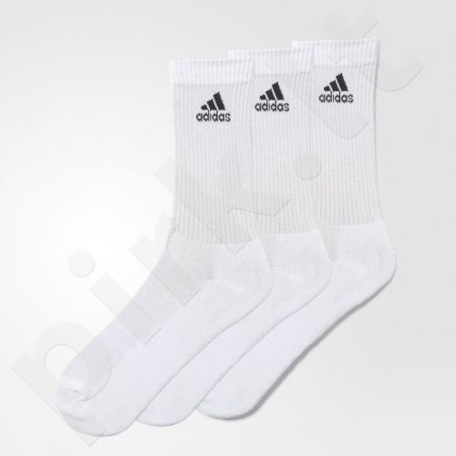 Kojinės Adidas 3 Stripes Performance Crew 3 poros AA2297