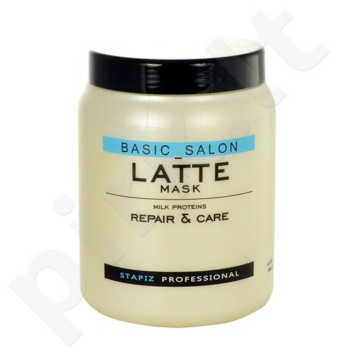Stapiz Basic Salon Latte Mask, kosmetika moterims, 1000ml